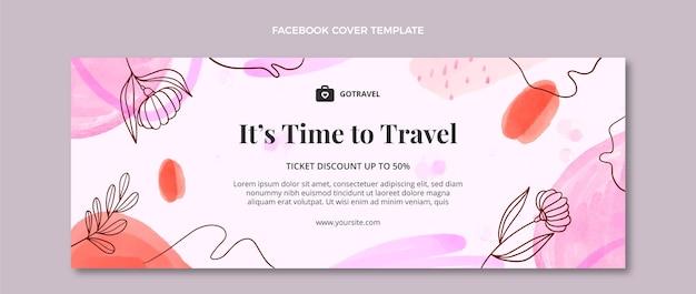 수채화 여행 페이스북 커버