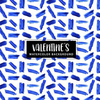 Watercolor valentine background
