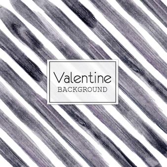 Acquerello valentine gray lines background