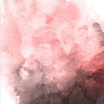 Watercolor valentine pink and grey background