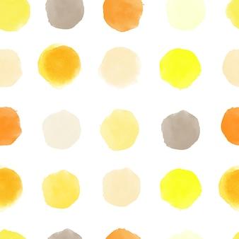 수채화 벡터 완벽 한 패턴입니다. 수채화 얼룩