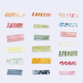 수채화 와시 테이프 컬렉션