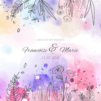Watercolor Flowers Vectors Photos And Psd Files Free Download
