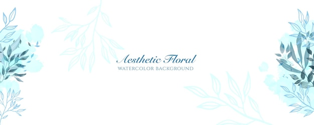 Акварельная широкая обложка баннера или реклама веб-страницы. акварель абстрактные брызги синий темно-синий блестящий широкий вертикальный вектор фон шаблон. для красоты, свадьбы, макияжа, украшений. романтичный женский