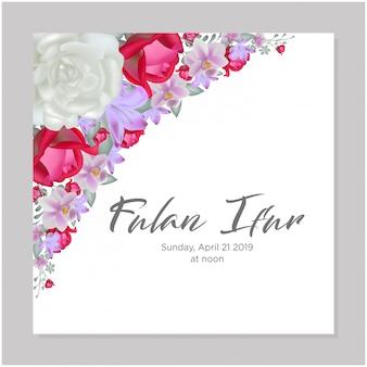 Акварель венок свадебные открытки