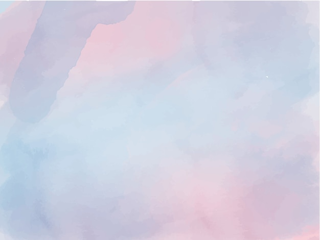 Watercolour blue andd pink ombre abstract background