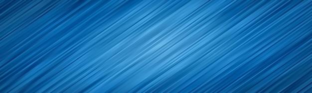 波の抽象的な背景。縞模様の壁紙。青色のバナーカバー