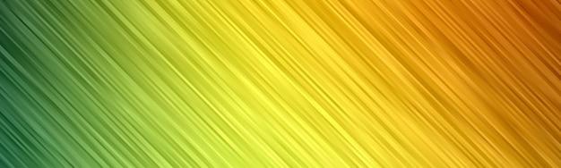 波の抽象的な背景。縞模様の壁紙。イエローゴールドカラーのバナーカバー