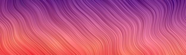 波の抽象的な背景。縞模様の壁紙。バナーカバー