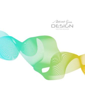 波の背景、抽象的な背景、抽象的なパターン