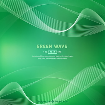 Wave background