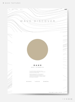 Wave discover band info vector