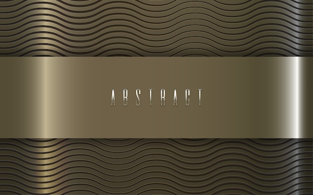 Wave gold texture luxury abstract pattern