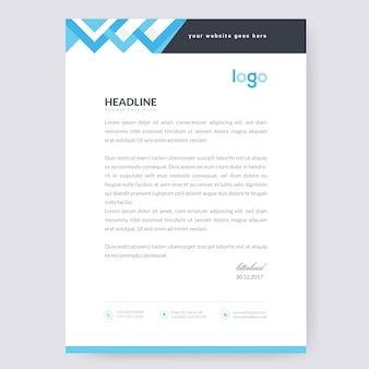 Wave Letterhead Design