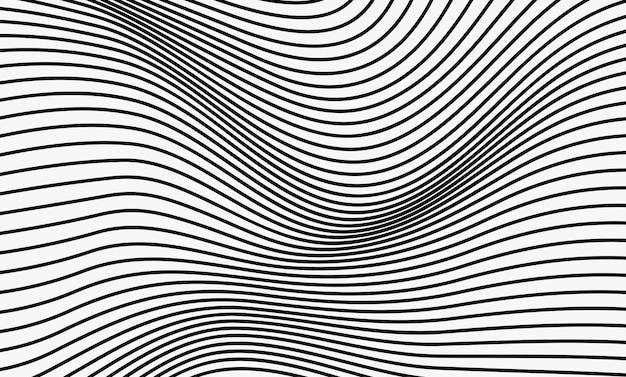 波線パターン抽象的な背景