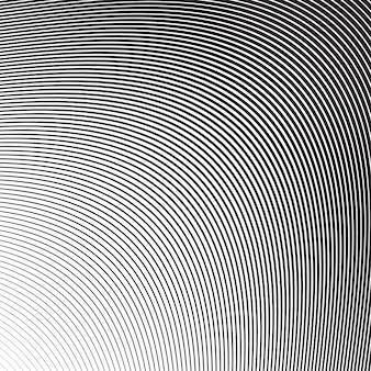 Волна косые гладкие линии узор в векторе