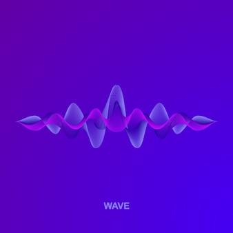 Волна звука. оформление
