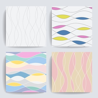 Wave pattern collection.
