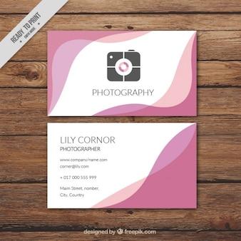 파도 추상 사진 스튜디오 카드