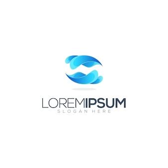 Волны логотип иллюстрация