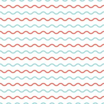 파도 패턴입니다. 추상적인 기하학적 배경입니다. 고급스럽고 우아한 스타일의 일러스트레이션