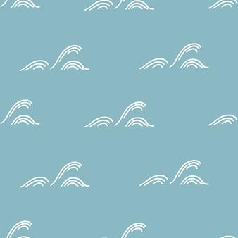 Waves pattern background