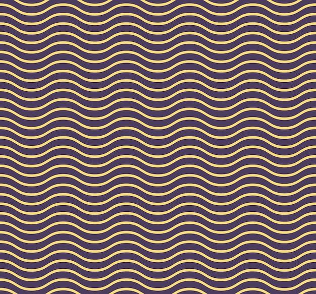 Картина волн. геометрический простой фон. креативный и элегантный стиль иллюстрации