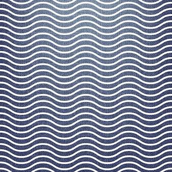 섬유, 추상적인 기하학적 배경에 파도 패턴입니다. 창의적이고 고급스러운 스타일의 일러스트레이션