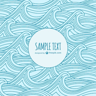 Waves sketch template