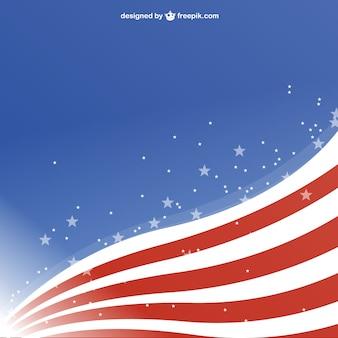 アメリカ自由背景テンプレートの設計