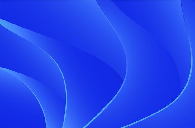 Wavy abstrack background vector illustration for desktop