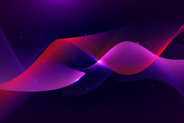 Wavy background design