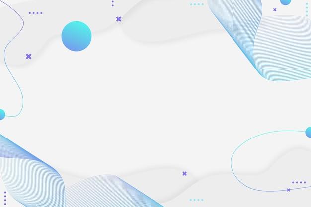 白青と紫のコピースペースを持つ波状の背景