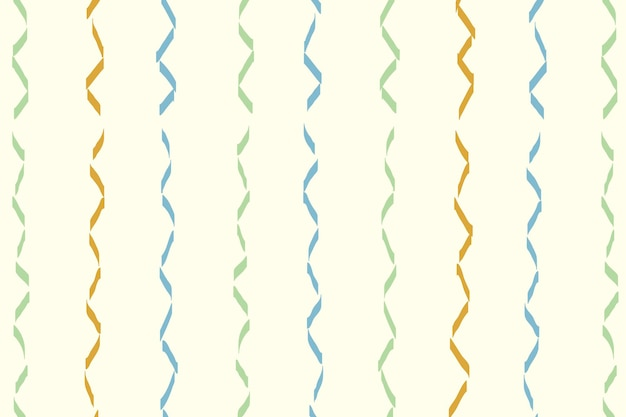 Wavy lined pattern background, colorful doodle vector, aesthetic design