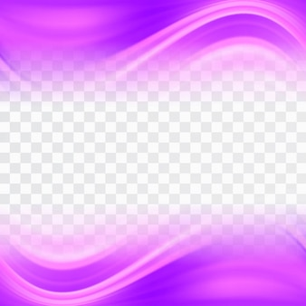 Wavy shapes with pink tones