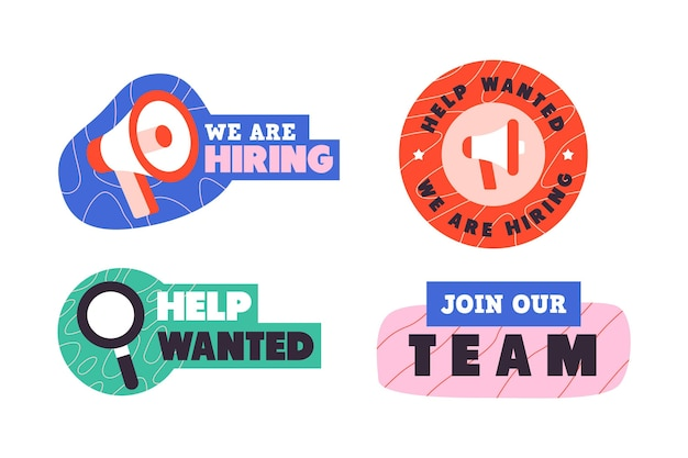 We are hiring banners template