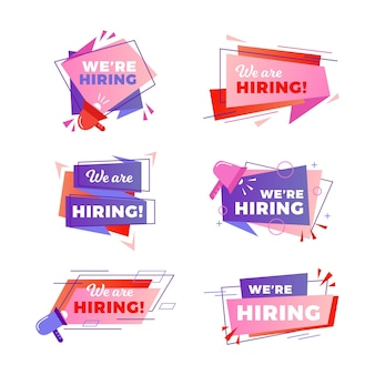 We are hiring banners