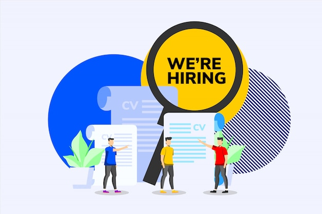 We are hiring business design concept