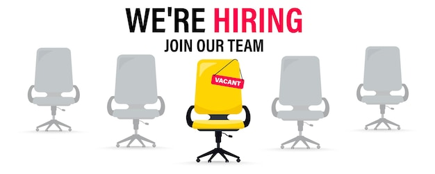 We are hiring business recruitment concept join our team we need you build your career