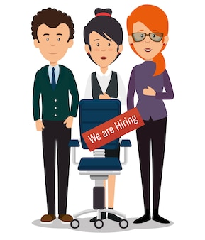 We are hiring business