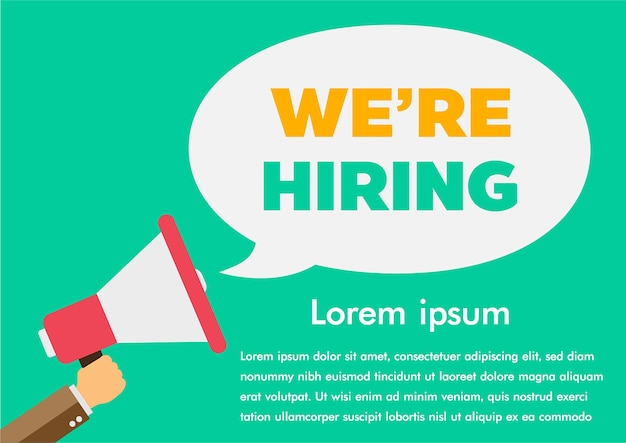 We are hiring find a job