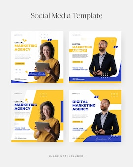 We are hiring job position for instagram post template