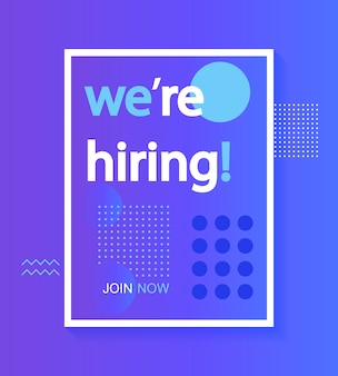 We are hiring, join our team