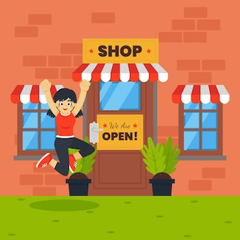 We are open shop and client jumping