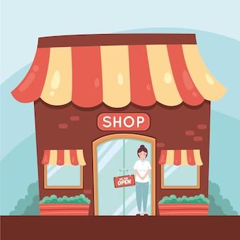 Siamo progettazione di insegne di negozi aperti