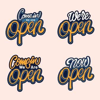 Siamo una raccolta di segni aperta