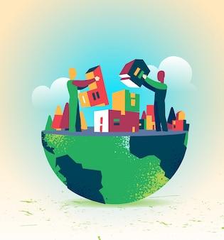 우리는 맞춤형 세계를 함께 구축 할 수 있습니다