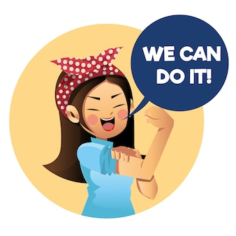 We can do it cute cartoon character.