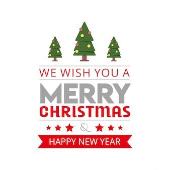 우리는 당신에게 메리 크리스마스 배경을 기원합니다