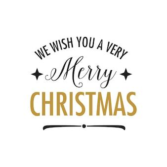 Желаем вам очень веселого рождественского письма